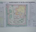 Ausführungsplan für den Bau eines Spielplatzes in Eschborn