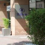 Grünanlagenpflege des Hilton Hotels in Frankfurt City